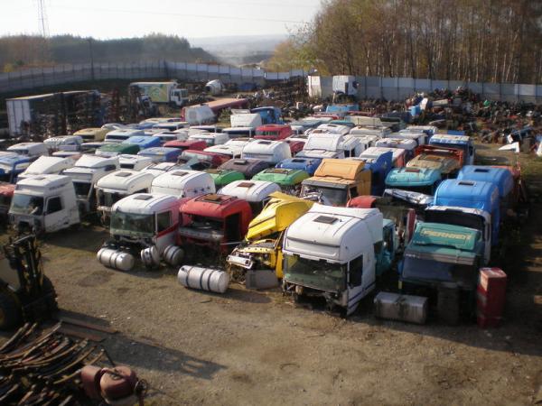 Логотип компании Разборка грузовых автомобилей и прицепов из Европы