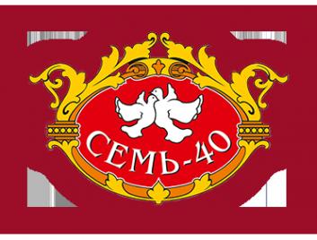 Логотип компании Семь-40