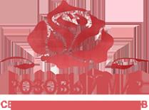Логотип компании Розовый Мир